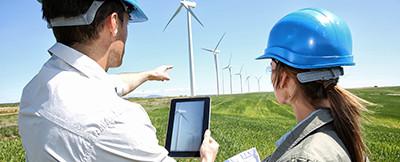 GIS Geo-Informationssystem Masten Windkraftanlagen