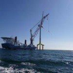 Offshore Mastsanierung