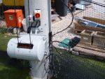 Automatische Aufzugsvorrichtung Von Netzen