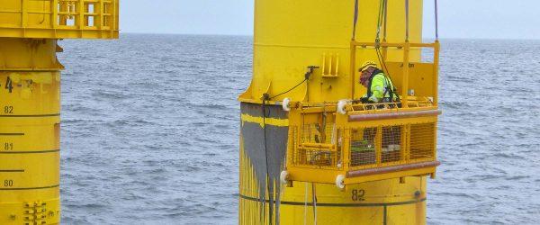 Geyer offshore: Mastanalyse und Mastsanierung auf hoher See